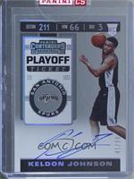 Rookie Ticket Variation - Keldon Johnson [Uncirculated] #/99