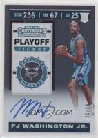 Rookie Ticket - PJ Washington Jr. #/99