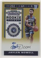 Rookie Ticket - Jaylen Nowell #/10
