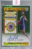 Rookie Ticket - Jordan Poole [Uncirculated]
