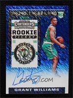 Rookie Ticket - Grant Williams #/20