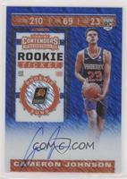 Rookie Ticket - Cameron Johnson #/20