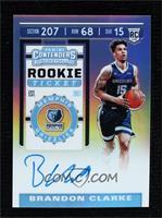 Rookie Ticket - Brandon Clarke