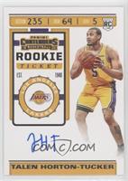 Rookie Ticket Photo Variation - Talen Horton-Tucker