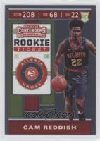 Rookie Ticket Variation - Cam Reddish