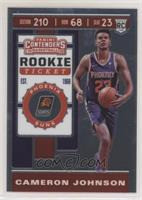 Rookie Ticket Variation - Cameron Johnson