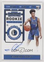 Rookie Ticket Photo Variation - Isaiah Roby