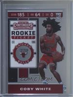Rookie Ticket Variation - Coby White