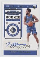 Rookie Season Ticket Stickers - Josh Reaves