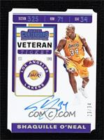 Shaquille O'Neal #/34