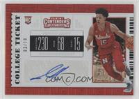 College Ticket - Isaiah Roby #/10