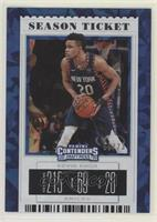 Season Ticket - Kevin Knox II (Blue Jersey) #/23