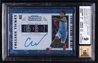 RPS College Ticket Variation B - Coby White [BGS9MINT] #/23