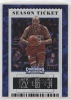 Season Ticket Variation - Charles Barkley (Red Jersey) #/23