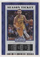 Season Ticket Variation - Stephen Curry (Warriors Jersey) #10/15