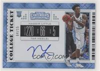 RPS College Ticket Variation A - Nassir Little (White Jersey, Ball in Right Han…