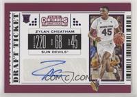 College Ticket - Zylan Cheatham