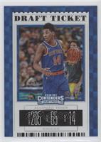 Season Ticket - Allonzo Trier (Blue Jersey) #/75