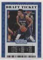Season Ticket - Kevin Knox II (Blue Jersey) #/75
