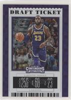 Season Ticket - LeBron James (Purple Jersey) #/75