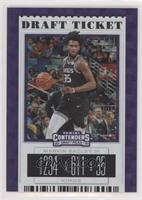 Season Ticket - Marvin Bagley III (Black Jersey) #/75