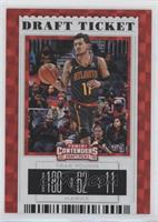 Season Ticket - Trae Young (Black Jersey) #/75