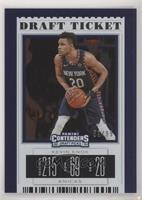 Season Ticket - Kevin Knox II (Blue Jersey) #/99
