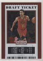 Season Ticket Variation - Trae Young (Red Jersey) #/99