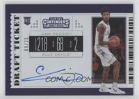 RPS College Ticket Variation B - Cam Reddish #/25