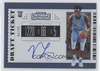 RPS College Ticket - Nassir Little (Carolina Blue Jersey, Dribbling) #/99