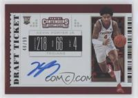 RPS College Ticket - Kevin Porter Jr. /99 [EX to NM]