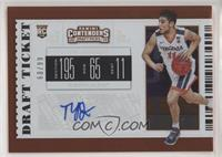 College Ticket - Ty Jerome (White Jersey) #/99