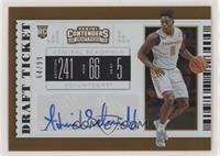 College Ticket - Admiral Schofield #/99