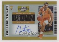 RPS College Ticket - Grant Williams #/10