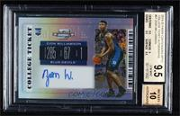 RPS College Ticket - Zion Williamson [BGS 9.5 GEM MINT]