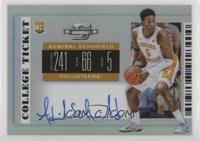 RPS College Ticket - Admiral Schofield