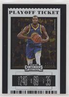 Season Ticket - Kevin Durant (Blue Jersey) /18