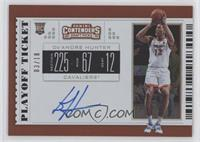 RPS College Ticket Variation C - De'Andre Hunter #/18