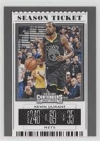 Season Ticket Variation - Kevin Durant (Black Jersey) [EX to NM]