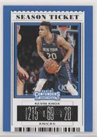 Season Ticket - Kevin Knox II (Blue Jersey)