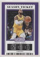 Season Ticket Variation - LeBron James (Gold Jersey)