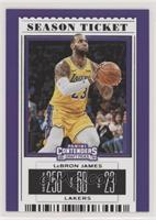Season Ticket Variation - LeBron James (Gold Jersey)