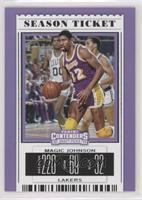 Season Ticket - Magic Johnson (Purple Jersey)