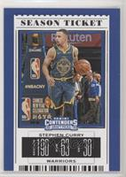 Season Ticket - Stephen Curry (The Bay Jersey)