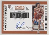 RPS College Ticket - Jaxson Hayes