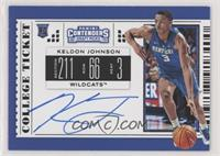 RPS College Ticket - Keldon Johnson