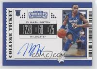 RPS College Ticket Variation A - PJ Washington Jr.