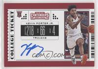 RPS College Ticket Variation C - Kevin Porter Jr.