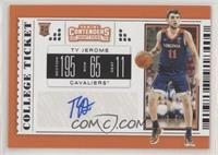 College Ticket Variation - Ty Jerome (Blue Jersey)