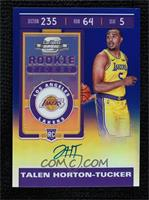 Rookie Ticket - Talen Horton-Tucker #12/99